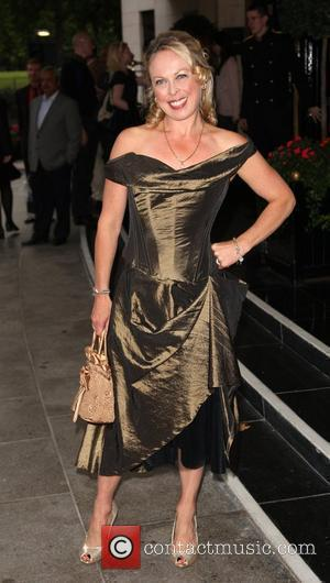 Jayne Torvill  TV Quick and TV Choice awards 2009 held at the Dorchester hotel - Outside Arrivals London, England...