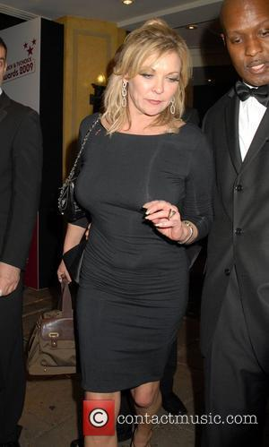 Claire King TV Quick and TV Choice awards 2009 held at the Dorchester hotel - Departures London, England - 07.09.09