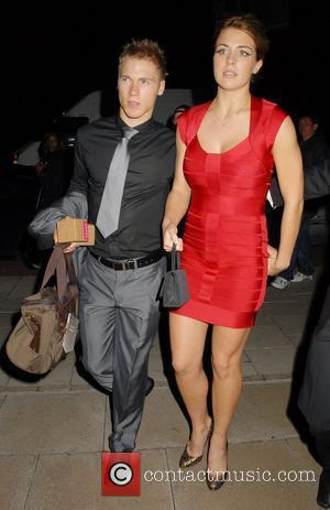 Gemma Atkinson and guest TV Quick and TV Choice awards 2009 held at the Dorchester hotel - Departures London, England...