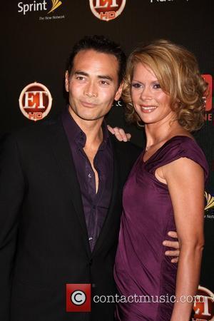 Mark Dacascos and Julie Condra