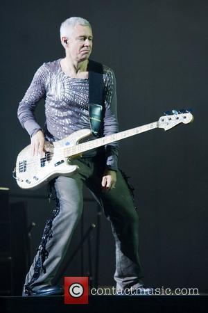 Adam Clayton U2 performing live at Parc des Sports Charles Ehrmann Nice, France - 15.07.09