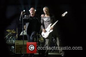 Bono and Adam Clayton