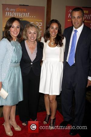 Rosanna Scotto, Marion Scotto, Elaina Scotto and John Scotto UJA-Federation of New York's Leadership awards dinner at Pier Sixty at...