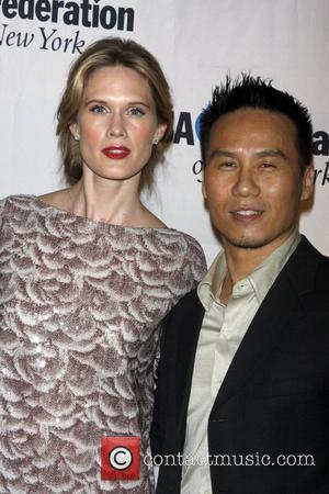 Stephanie March and B.D. Wong UJA-Federation of New York's Leadership awards dinner at Pier Sixty at Chelsea Piers New York...