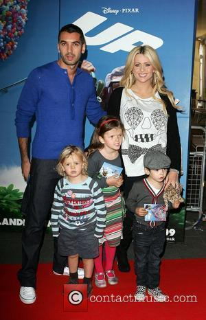 Nicola McLean and her family The UK Premiere of the new Disney Pixar Film 'Up' held at the London BFI...