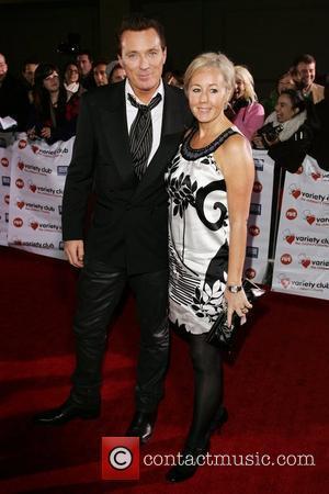 Martin Kemp and Shirlie Kemp Variety Club Showbiz Awards held at the Grosvenor House. London, England - 15.11.09