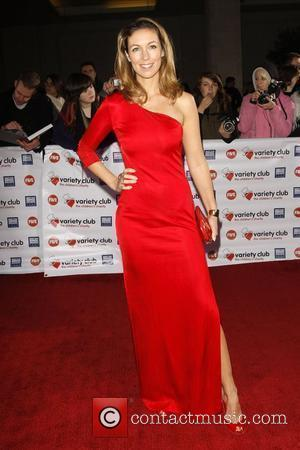 Emma Crosby Variety Club Showbiz Awards held at the Grosvenor House. London, England - 15.11.09