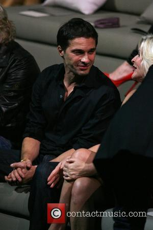 Olivier Martinez and Sharen Turney of CEO of Victoria's Secret Victoria's Secret Fashion Show at The Armory - Inside New...