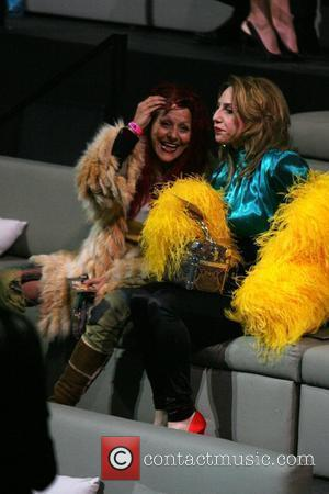 Patricia Field and Guest Victoria's Secret Fashion Show at The Armory - Inside New York City, USA - 19.11.09