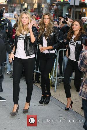 Heidi Klum, Alessandra Ambrosio and Miranda Kerr