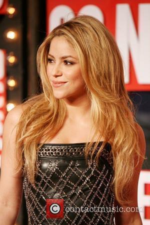 Shakira 2009 MTV Video Music Awards (VMA) held at the Radio City Music Hall - Arrivals New York City, USA...
