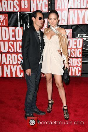 Marc Anthony and Jennifer Lopez 2009 MTV Video Music Awards (VMA) held at the Radio City Music Hall - Arrivals...