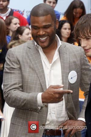 Tyler Perry and Ashton Kutcher  Celebrities kick off two major initiatives, Participate and Cities of Service, to encourage volunteerism...