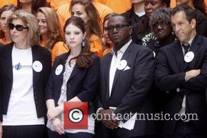 Christine Baranski, Michelle Trachtenberg, Randy Jackson and Kenneth Cole Celebrities kick off two major initiatives, Participate and Cities of Service,...