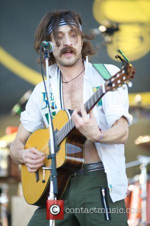 Gogol Bordello play the Playstation stage at the 'Voodoo Music Experience' in New Orleans - Day 2 Louisiana, USA -...