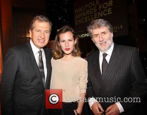Mario Testino, Charlotte Dellal and Tom Conti