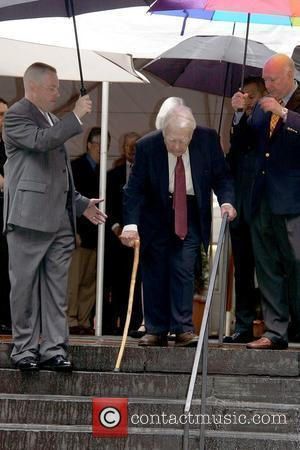Andy Rooney Hospitalized After 'Serious' Complications