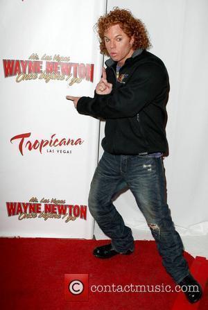 Carrot Top, Las Vegas and Wayne Newton