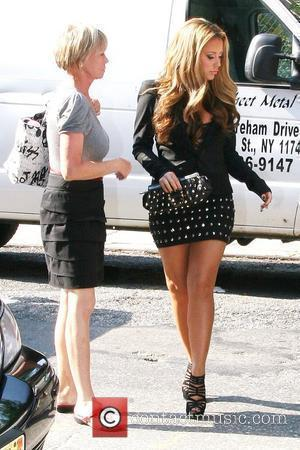 Aubrey O'day Outside Fox Studios For 'the Wendy Williams Show'
