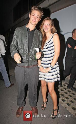 Max Irons going into Whisky Mist in Mayfair London, England - 30.06.09