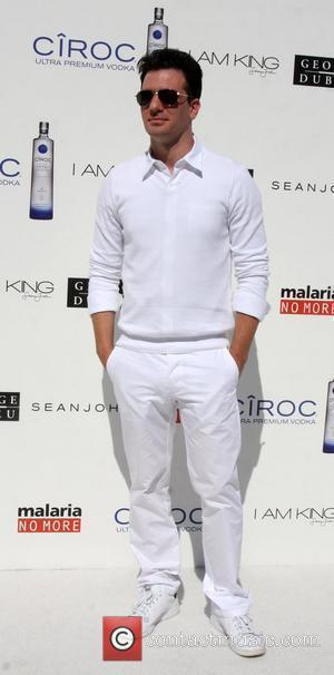 JC Chasez The Annual White Party held at a private residence in Beverly Hills - Arrivals California, USA - 04.07.09