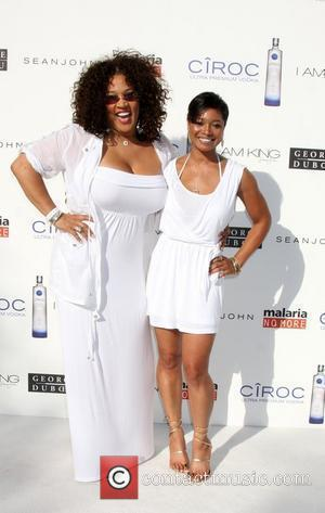 Kym Whitley, Tamela Jones The Annual White Party held at a private residence in Beverly Hills - Arrivals California, USA...