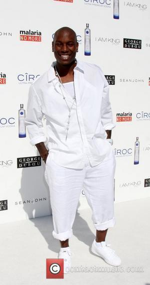 Tyrese Gibson The Annual White Party held at a private residence in Beverly Hills - Arrivals California, USA - 04.07.09