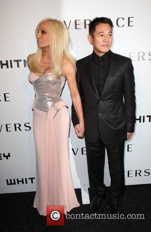 Donatella Versace, Jet Li and Versace