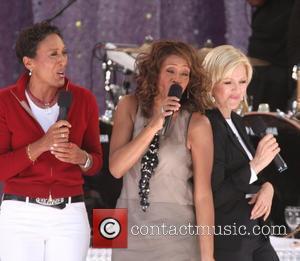 Robin Roberts and Whitney Houston