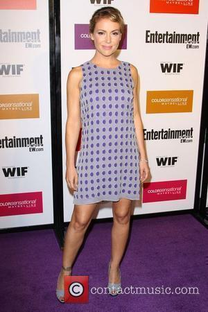 Alyssa Milano 2009 Entertainment Weekly & Women In Film pre-Emmy party held at the 'Restaurant' at the Sunset Marquis hotel...