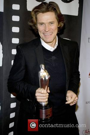 Actor Willem Dafoe, Chicago and Willem Dafoe