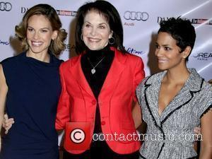 Hilary Swank, Sherry Lansing and Halle Berry