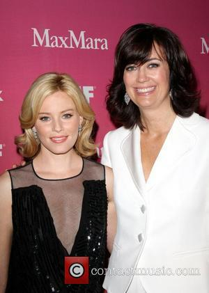 Elizabeth Banks and President Jane Fleming