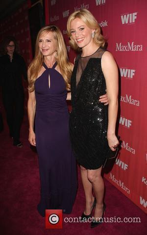 Holly Hunter and Elizabeth Banks