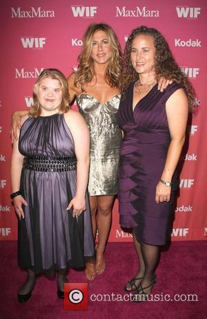Jennifer Aniston and Auction winner