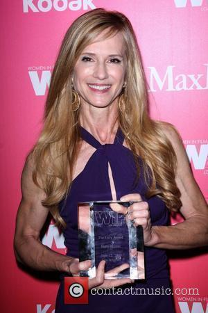 Holly Hunter The Women in Film Crystal and Lucy Awards 2009 at the Century Plaza Hotel - Backstage Century City,...