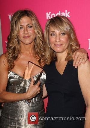 Jennifer Aniston and Stacey Snider