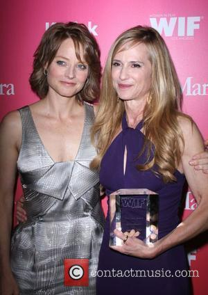 Jodie Foster, Holly Hunter The Women in Film Crystal and Lucy Awards 2009 at the Century Plaza Hotel - Backstage...
