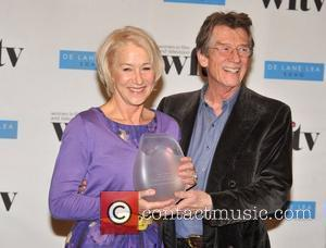 Helen Mirren and John Hurt Women In Film And TV Awards held at the London Hilton, Park Lane - Press...