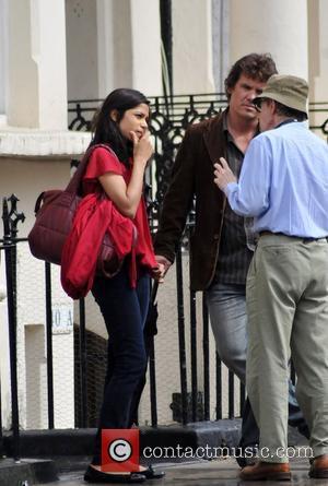 Freida Pinto, Josh Brolin and Woody Allen