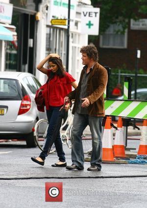 Freida Pinto and Woody Allen