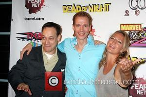 Ted Raimi and Zoe Bell