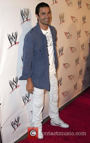 Gilles Marini  Nancy O'Dell and World Wrestling Entertainment SummerSlam Kickoff Party at h.wood - Arrivals Los Angeles, California -...