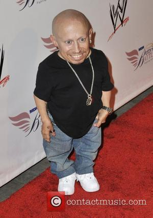 Verne Troyer  Nancy O'Dell and World Wrestling Entertainment SummerSlam Kickoff Party at h.wood - Arrivals Los Angeles, California -...