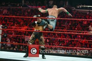 John Cena and The Miz WWE Raw held at the Verizon Center. Washington DC, USA - 27.07.09