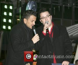 Peter Andre and Wes