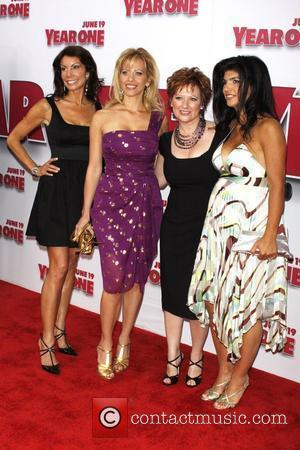 Danielle Staub, Dina Manzo, Caroline Manzo and Teresa Giudice of 'The Real Housewives of New Jersey' The world premiere of...
