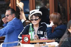 Yoko Ono  wears a Berlin sweatshirt to lunch at Da Silvano  New York City, USA - 21.09.09