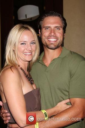 Sharon Case and Joshua Morrow The Young & the Restless Fan Club Dinner held at the Sheraton Universal Hotel...