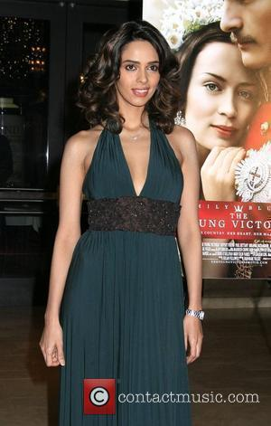 Mallika Sherawat Los Angeles Premiere of 'The Young Victoria' held at Pacific Theatres at The Grove Los Angeles, California -...